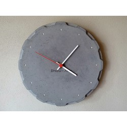 Betonové hodiny nástěnné No.27