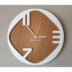 Nástěnné hodiny-No.W-07-bílé